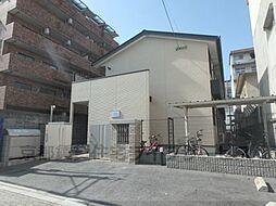 京都府京都市中京区西ノ京小堀池町の賃貸アパートの外観