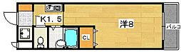 ライフハイム[2階]の間取り