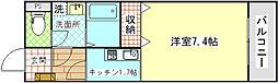 レジデンス・ミヨ[303号室]の間取り