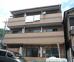 京都府京都市山科区川田山田の賃貸アパートの外観