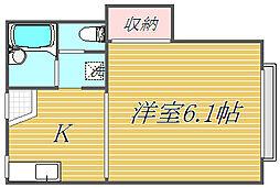 オーキッドハウス[2階]の間取り