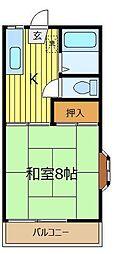 ファミーユミカミ[2階]の間取り
