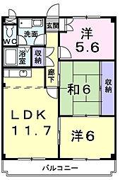 メゾン太田[3階]の間取り