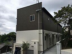 福岡県福岡市中央区輝国1丁目の賃貸アパートの外観