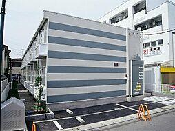千葉県松戸市大金平4の賃貸アパートの外観