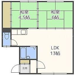 栄藤マンション[2階]の間取り