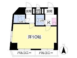 西栄ビル[205号室]の間取り