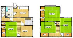 [一戸建] 愛媛県新居浜市庄内町1丁目 の賃貸【/】の間取り
