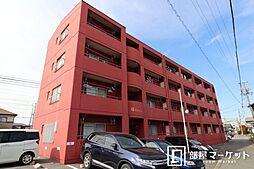 愛知県岡崎市若松町字東荒子の賃貸マンションの外観