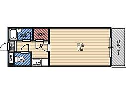 モリビル京橋[7階]の間取り