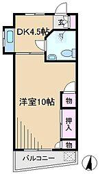 シノセビル[5階]の間取り