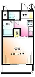 グリーンハイム矢沢[2階]の間取り