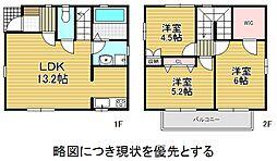 [一戸建] 愛知県名古屋市名東区文教台1丁目 の賃貸【/】の間取り