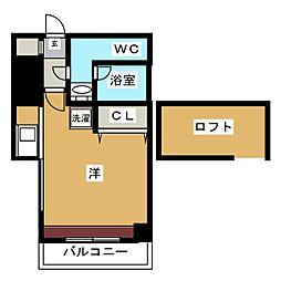 エステート・モア・イーストパーク[8階]の間取り