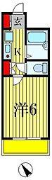 フローレンスビレッジ3[5階]の間取り
