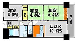 ライオンズマンション倉敷幸町[13階]の間取り