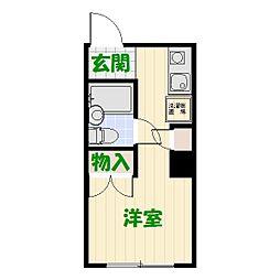 アパルトマン堀切NO.3[2階]の間取り