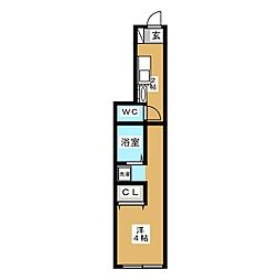 JR京浜東北・根岸線 蒲田駅 徒歩15分の賃貸アパート 2階1Kの間取り