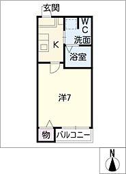 アーバンコート豊田本町[2階]の間取り