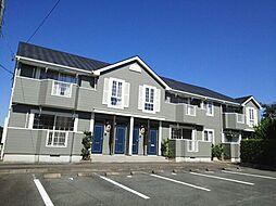 静岡県浜松市浜北区内野の賃貸アパートの外観