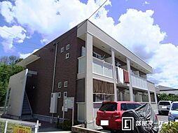 愛知県豊田市志賀町香九礼の賃貸アパートの外観