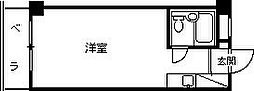 プティメゾン夙川江上町[304号室]の間取り