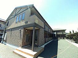 埼玉県桶川市東1丁目の賃貸アパートの外観