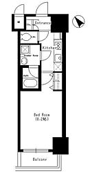 Dormouse Castle[6階]の間取り