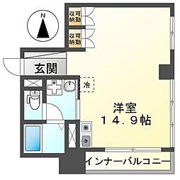 鶴舞アネックス[2階]の間取り