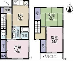[テラスハウス] 静岡県浜松市東区小池町 の賃貸【/】の間取り