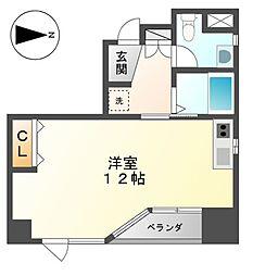 プロビデンスサーリーII[2階]の間取り