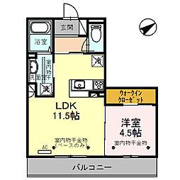 仮称)D-room小坂町北 B棟[303号室]の間取り