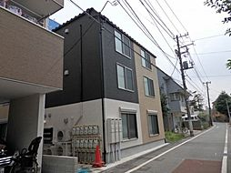 東京都大田区大森中3の賃貸アパートの外観