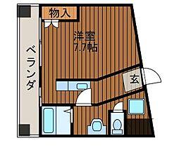 ドゥーエ新百合ヶ丘[1階]の間取り