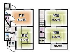 [一戸建] 大阪府守口市金田町3丁目 の賃貸【/】の間取り
