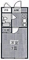 パークビュー高崎[407号室号室]の間取り