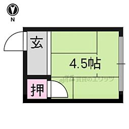 【敷金礼金0円!】京福電気鉄道北野線 北野白梅町駅 徒歩10分