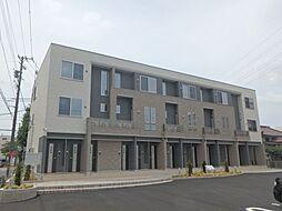 愛知県安城市和泉町庄司作の賃貸アパートの外観