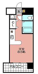モントーレ天神(810)[810号室]の間取り