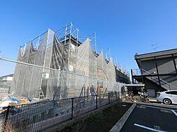 千葉県成田市並木町の賃貸アパートの外観