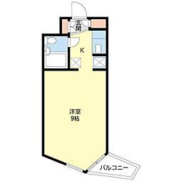 ビラ・プリンス(205)[205号室]の間取り