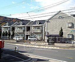 京都府長岡京市奥海印寺山田の賃貸アパートの外観