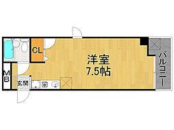 三原ビル[2階]の間取り
