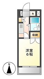 CASA NOAH 名古屋II[4階]の間取り