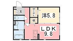 西二見駅 6.0万円