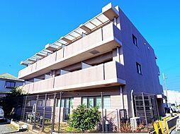 東京都清瀬市上清戸1丁目の賃貸マンションの外観