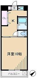 正太駒込マンション[2階]の間取り