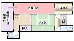 [一戸建] 兵庫県西宮市上田中町 の賃貸【/】の間取り