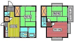 [タウンハウス] 埼玉県さいたま市南区大字太田窪 の賃貸【/】の間取り