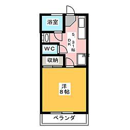 T'S3[3階]の間取り